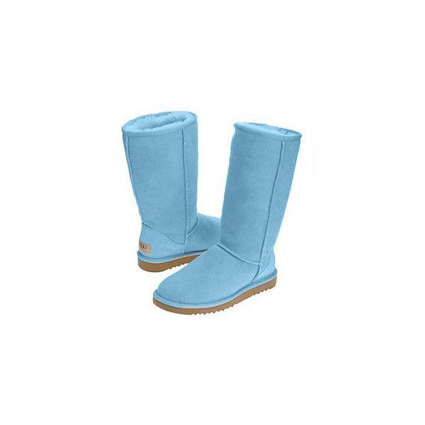 dcdb6a9a506 Ugg Classic Tall Sheepskin Boots 5815 Light Blue Tall UGG... ($119 ...