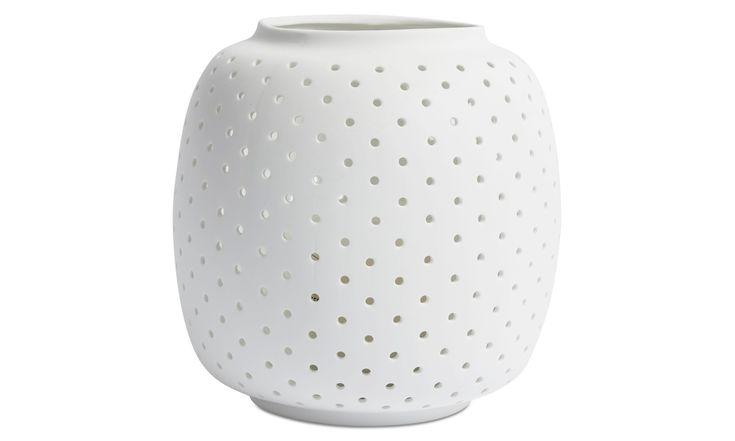 Candle holders - Cassiopeia lantern - White - Ceramic