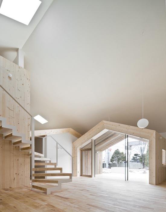 minimalist house design . sapporo / hokkaido ++ yoshichika takagi architecture