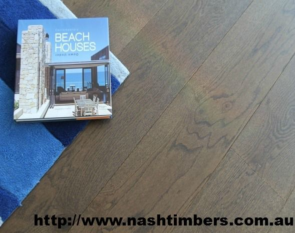 Pre-finished Engineered French Oak Brown Flooring 220mm x 21mm x 6mm
