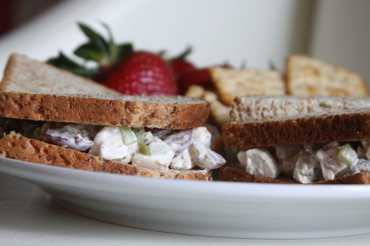 Ina Garten's Chicken Salad - I like to add sour cream and red onion instead of grapes