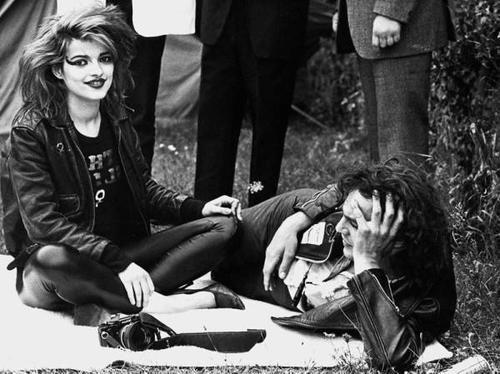 Nina Hagen and Ferdinand Karmelk,1979