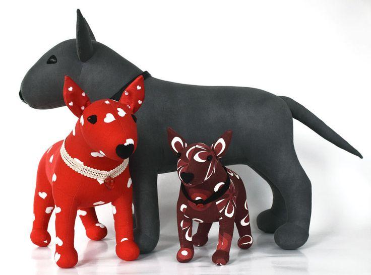 Szary bulterier Tęgomir - smietki - Zwierzeta i potwory #bullterrier #bullterriers #minibullterrier
