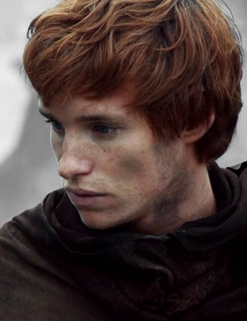 Eddie Redmayne in 'The Pillars of the Earth'