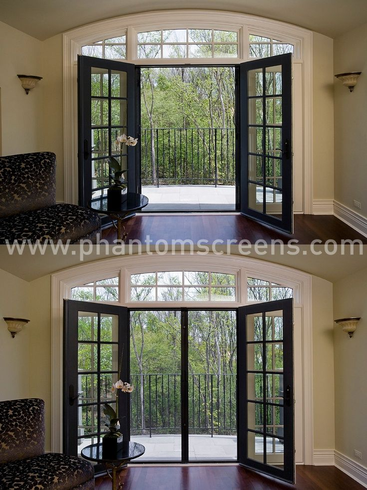 17 best images about phantom screens on pinterest patio for Phantom screen doors for french doors