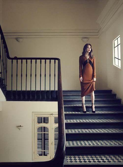 Ngắm bộ ảnh thời trang Yoon Eun Hye chụp tại Nhà Hát Lớn Hà Nội | AFAMILY.vn
