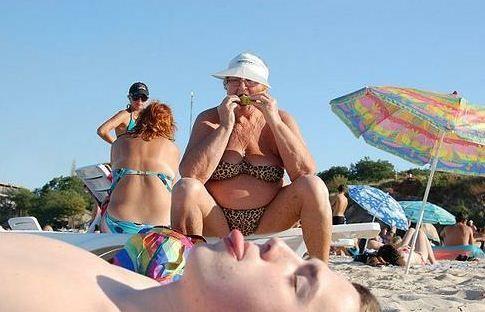 granny bikini   Make me laugh   Pinterest