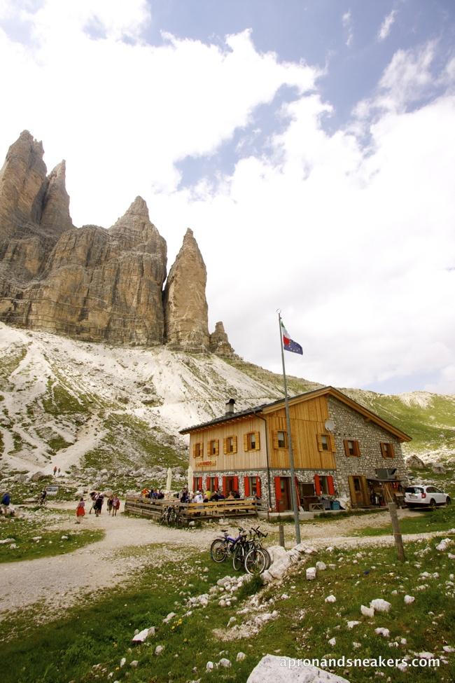 Tre Cime di Lavaredo at the Dolomites, Italy | Apron and Sneakers