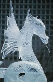 animal snow sculptures-#29