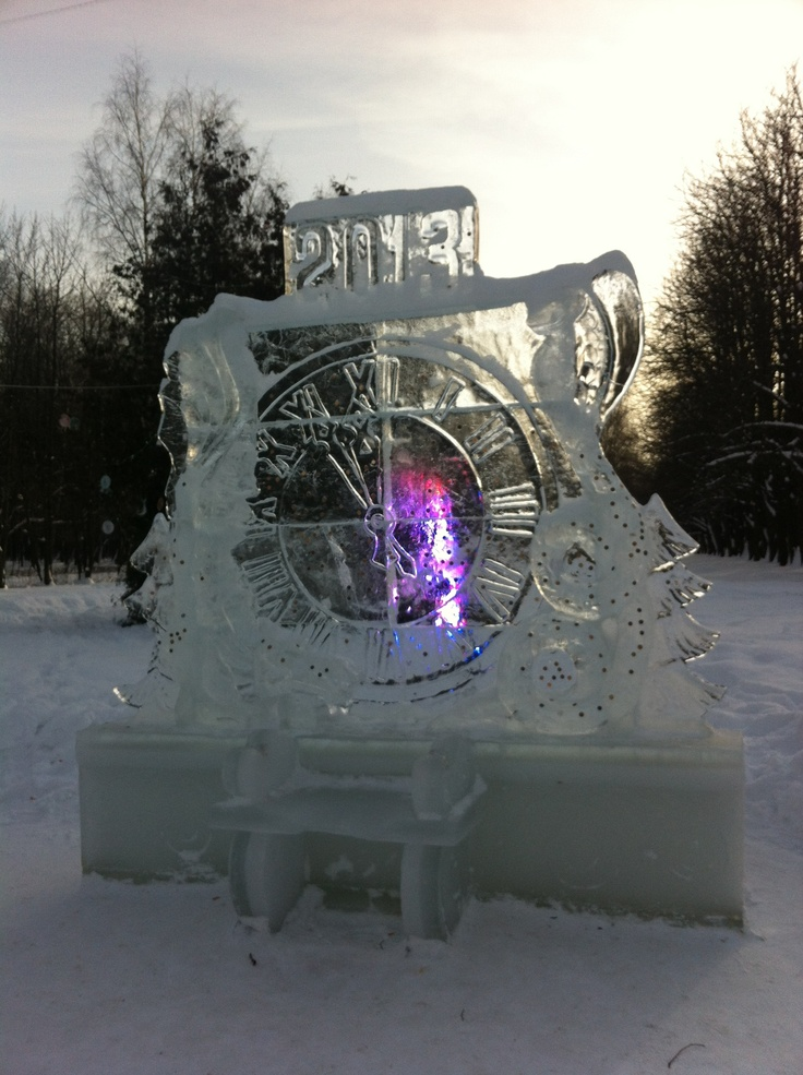 Ice chair in Izmaylovo