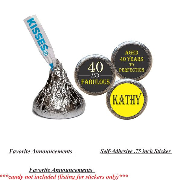 40 and Fabulous 50 and Fabulous 50th by FavoriteAnnouncement