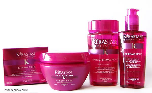 Review - Kérastase Reflection - Chroma Riche - MakeUp Atelier por Cinthia Ferreira