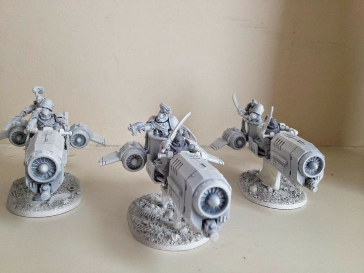 Spikey Bits Warhammer 40k, Fantasy, Conversions and Painted Miniatures: 30k Chariots? - Conversion corner
