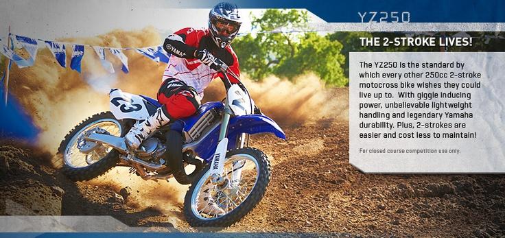 2013 Yamaha YZ250 Home, information