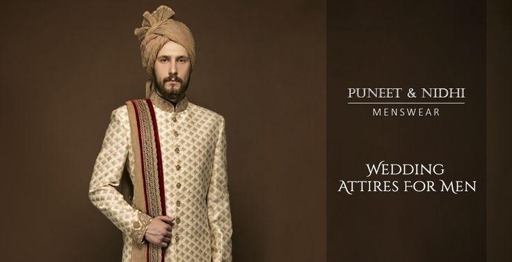 Choose the most stylish Men's wedding dresses in Noida, Delhi & California https://goo.gl/1lkRhl
