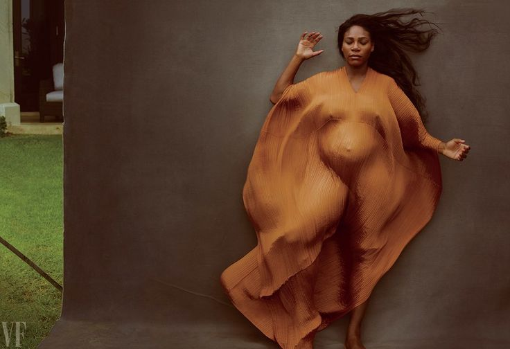 """I've been photographing Serena since she was 16 years old,"" said Annie Leibovitz. ""It was wonderful to do these pictures at this stage of her life."""