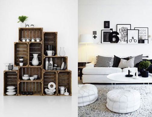 """Why am I drawn to numbers  signs??! Love the """"6"""".  Also love the shelves on the left!"""
