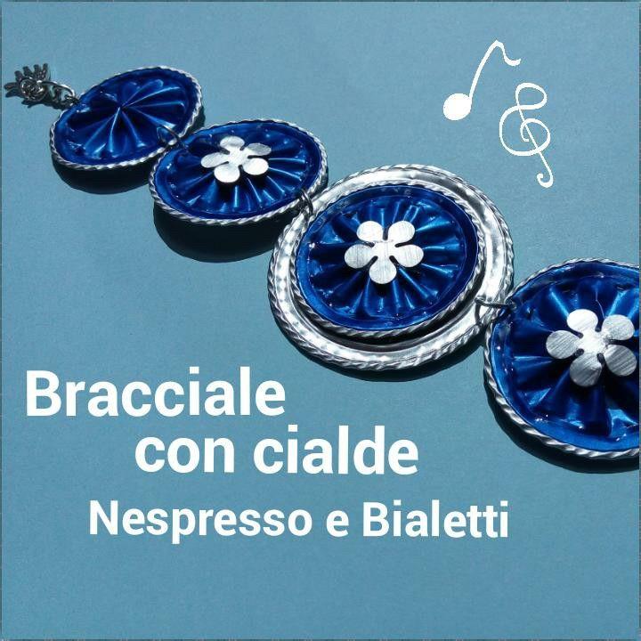 #Bracciale con #cialde #Bialetti e #Nespresso già online il video sul canale #youtube di #Elimo73