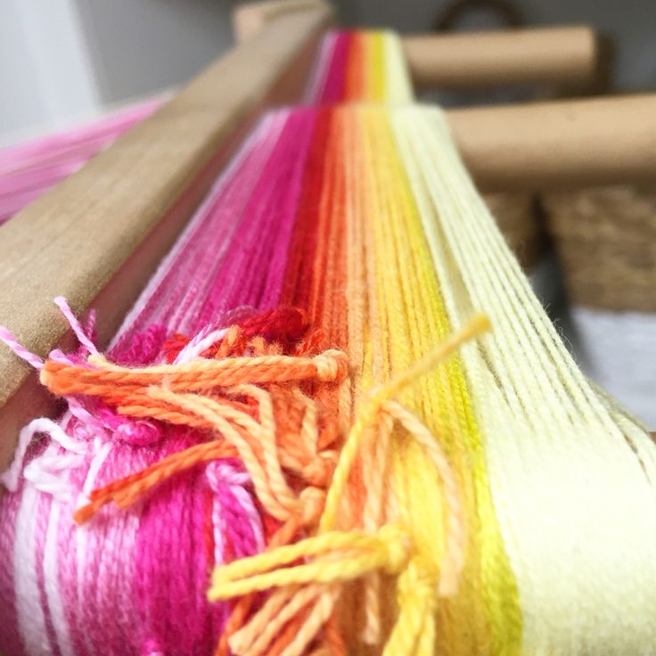 Sunset warp on the mill #sustainablefashion #sustainable #sustainableliving #sustainabletextiles #sustainabledesign #eco #ecofriendly #ecotextiles #plantbased #vegan #crueltyfree #organic #weaver #woven #woventextiles #textile #textiledesign #textiledesigner #luxury #luxuryyarn #luxurylife #luxurylifestyle #madeinhampshire #madewithlove #footpowered #organiccotton #organiccottonyarn #bamboo #bambooyarn #sunset