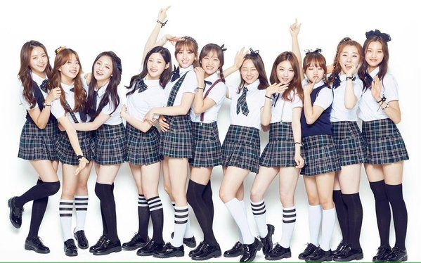 I.O.I are cute schoolgirls for 'PETITZEL' | Koogle TV
