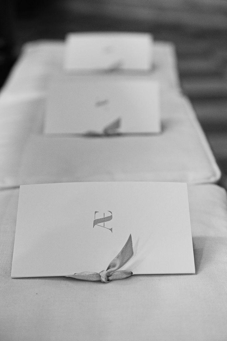 I libretti della messa. Iniziali. #matrimonio