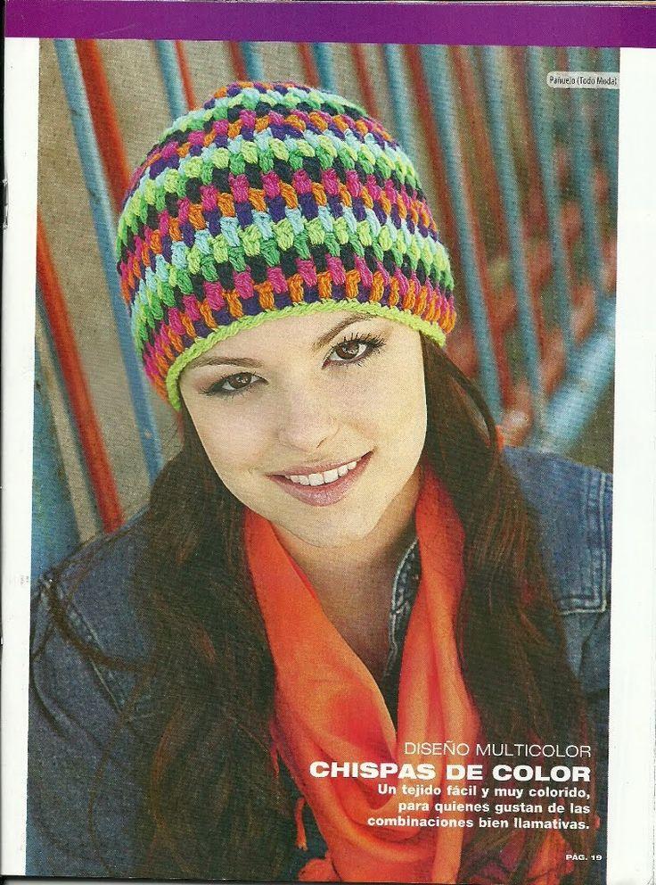 81 best Crochet / Knitting - Hat, Beret images on Pinterest ...