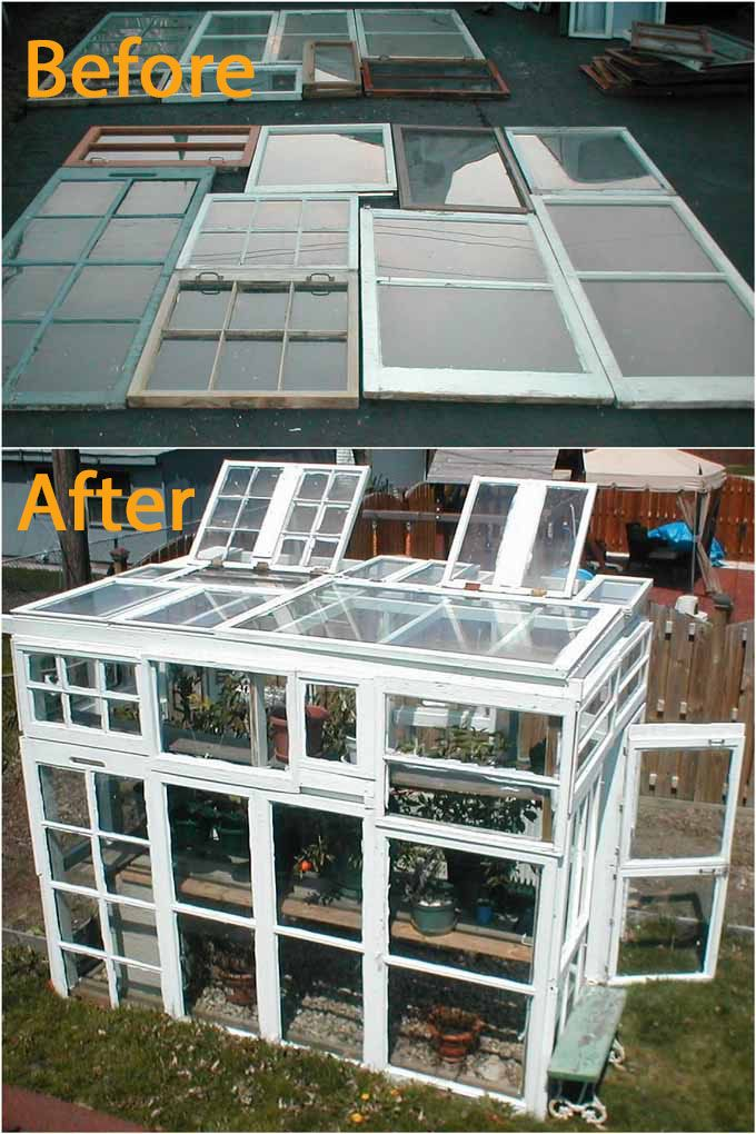 42 Best Diy Greenhouses With Great Tutorials And Plans A Piece Of Rainbow In 2020 Diy Greenhouse Greenhouse Build A Greenhouse