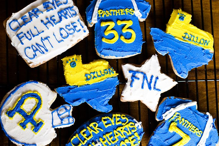Friday Night Lights + Cookies?!? Be my best friend!!