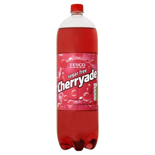 Tesco Sugar Free Cherryade 2 Litre Bottle