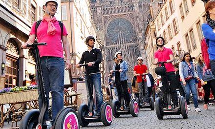 ONECITY TOURS à Strasbourg : Initiation au Segway: #STRASBOURG 29.90€ au lieu de 40.00€ (25% de réduction)