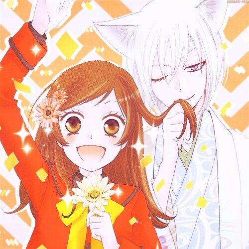 Cute Girl And Boy Kissing Wallpaper Nanami X Tomoe Kamisama Hajimemashita Anime Couple