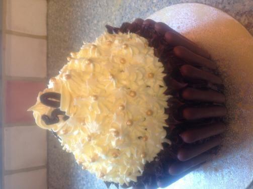 Big Top giant cupcake - recipe? banana