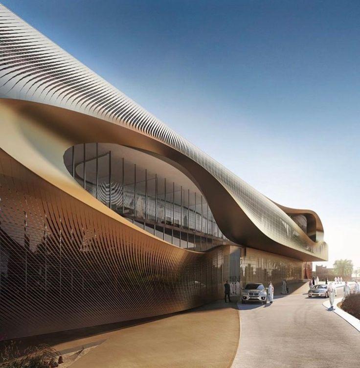 Urban Heritage Administration Centre By Zaha Hadid Architects Rendering By  Zaha Hadid Architects