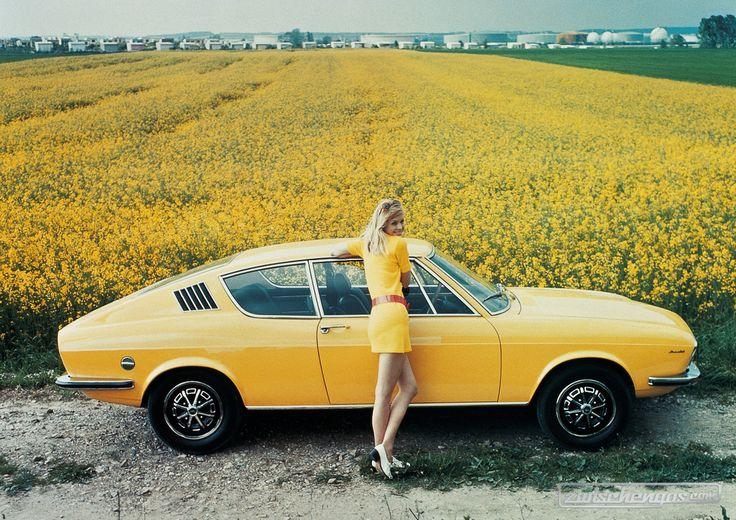 Audi Coupé S (1971) - elegant und modern Alles zu Audi: https://www.zwischengas.com/de/themen/Audi?from=indexbanner&utm_content=buffer11d72&utm_medium=social&utm_source=pinterest.com&utm_campaign=buffer Foto © Audi Pressedienst