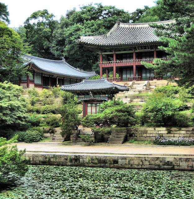 Changdeokgung Garden Pavillion - Seoul Korea