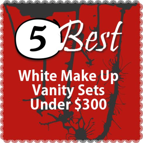 5 best white make up vanities under 30011 best Best Makeup Tables With Lots Of Storage images on  . Makeup Vanity With Lots Of Storage. Home Design Ideas