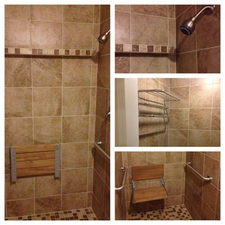 Zero Threshold Shower We Did I Lowered The Floor Framing