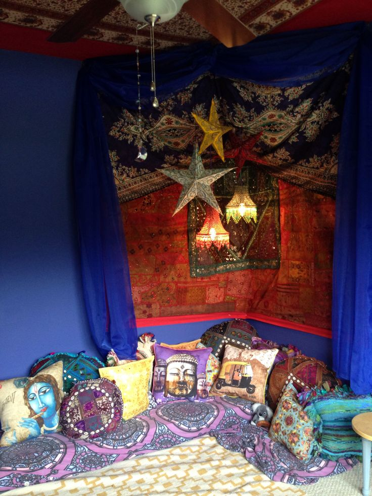 My Massage Room In Progress Indian Oasis Corner Boho