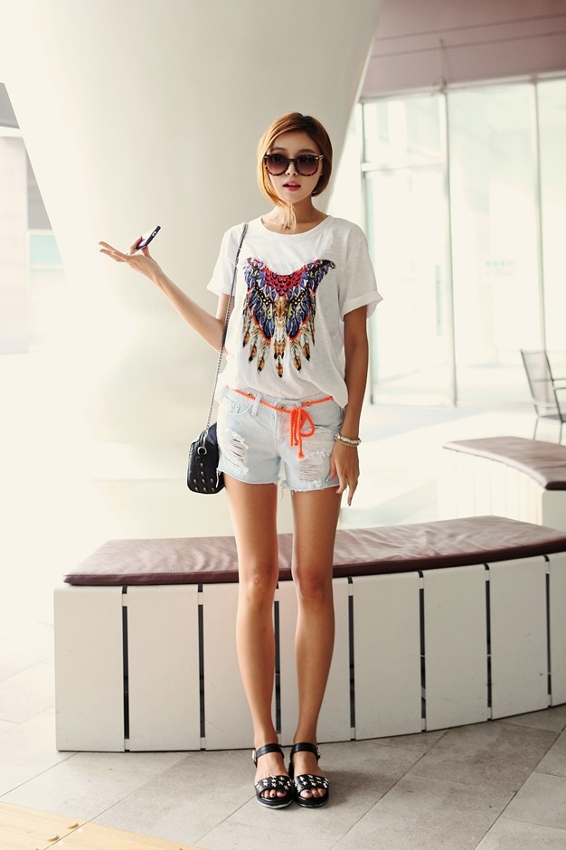 Korean Fashion perfect summer outfit
