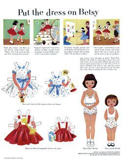 300 dpi dolls for each year!! Via http://www.se7en.org.za/Mccall Dolls, April 1953, Paper Dolls, Betsy Mccall, Mccall Paperdolls, The Dresses, Dolls Betsy, Betsy Mcall, Paperdolls 46