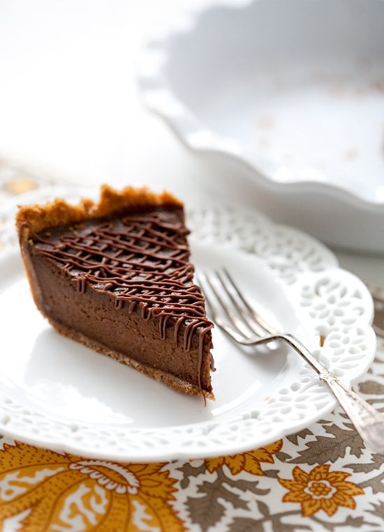 Chocolate and pumpkin make for a surprisingly delicious combination. One of our favorite pumpkin pie recipes of all time!