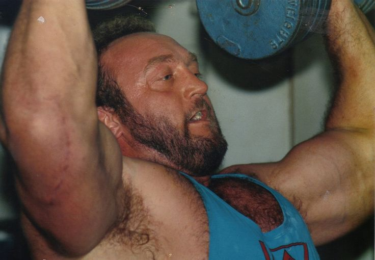 Bill Kazmaier Benching At Daves Gym Northwich 1988 World's Strongest Ma...
