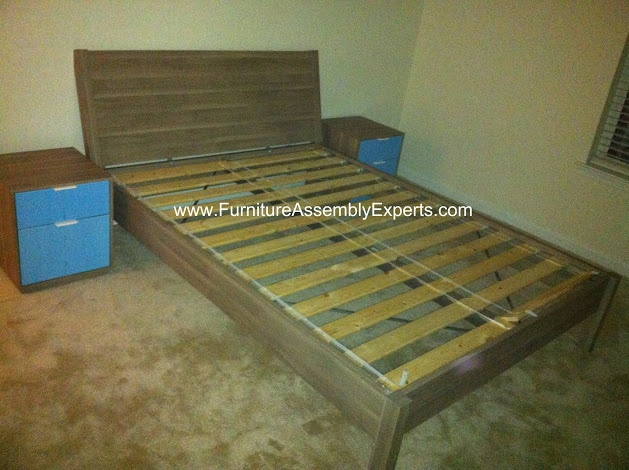 ikea nyvoll bed frames assembled in washington dc by furniture assembly experts company home. Black Bedroom Furniture Sets. Home Design Ideas