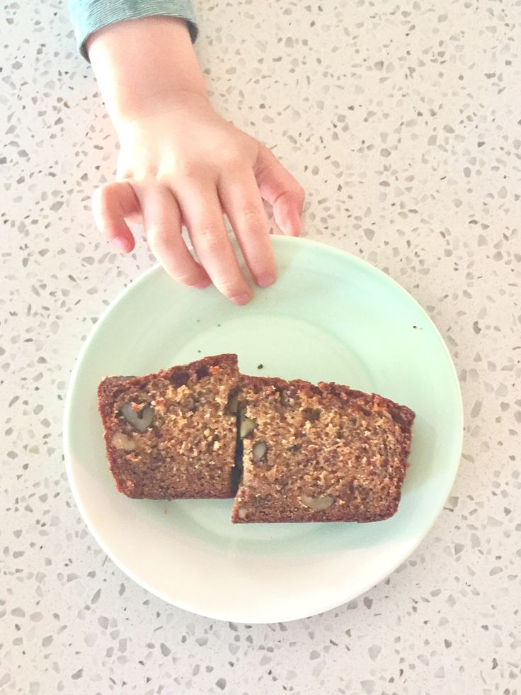 """I felt like all the """"good moms"""" growing up made banana bread, my mom included. It's something that is pretty much universally loved and brings up memories of childhood. There is just something so comforting and loving about it. My kids are also fickle in …"""