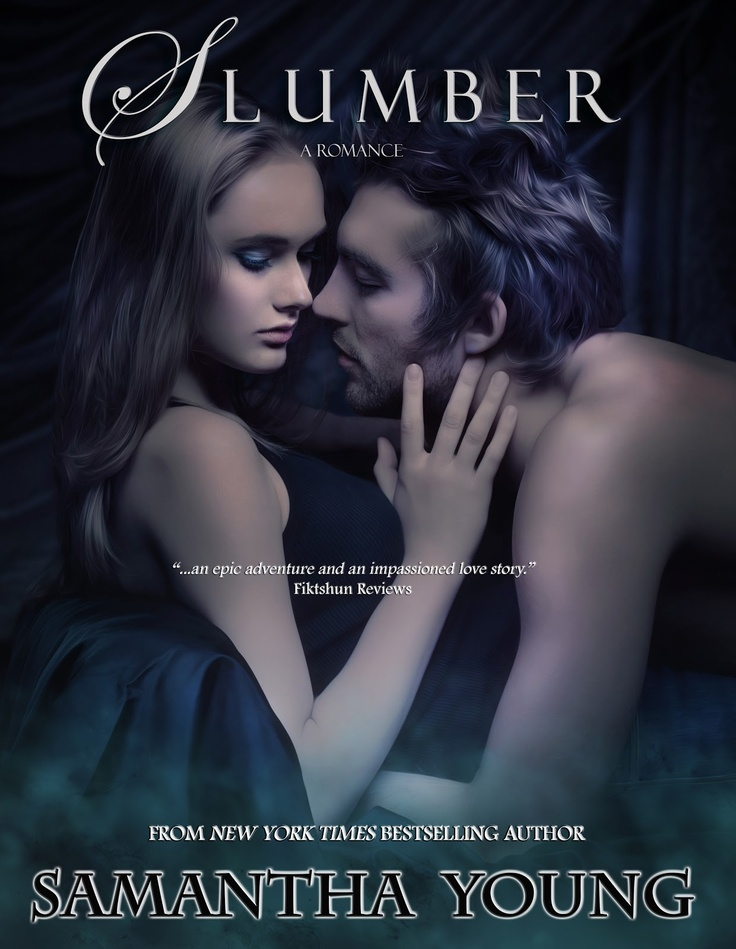 """The new cover for Samantha Young's """"Slumber"""". :)"""