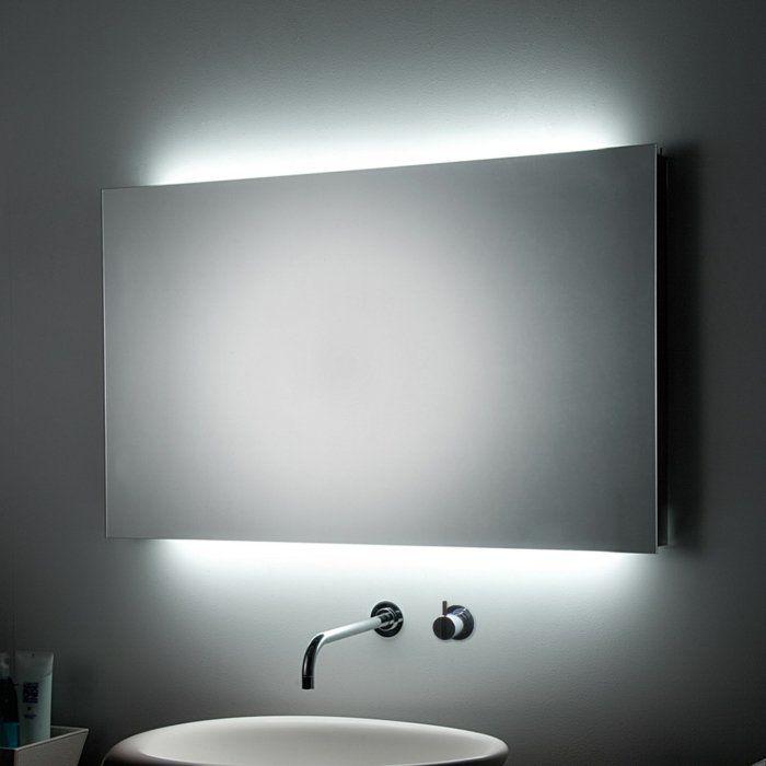 Badspiegel Mit Beleuchtung Praktisch Und Elegant Archzine Net