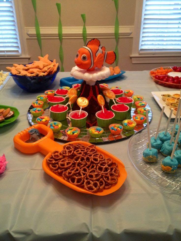 Decoraci n de fiesta infantil de nemo party ideas for o - Decoracion party ...