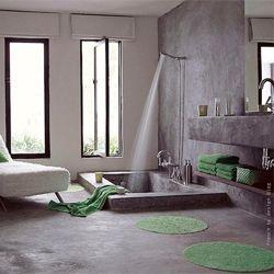 Some modern bathroom inspiration from around the web. (via apartmenttherapy) #modern #bathroom