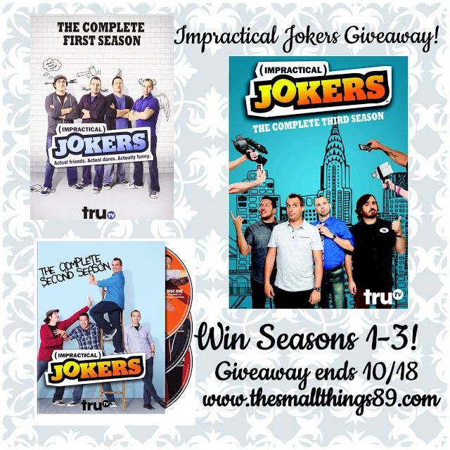 The Small Things- Product Reviews & More! : Impractical Jokers: Season 3 Hits DVD October 13! Win Seasons 1-3 on my blog now!