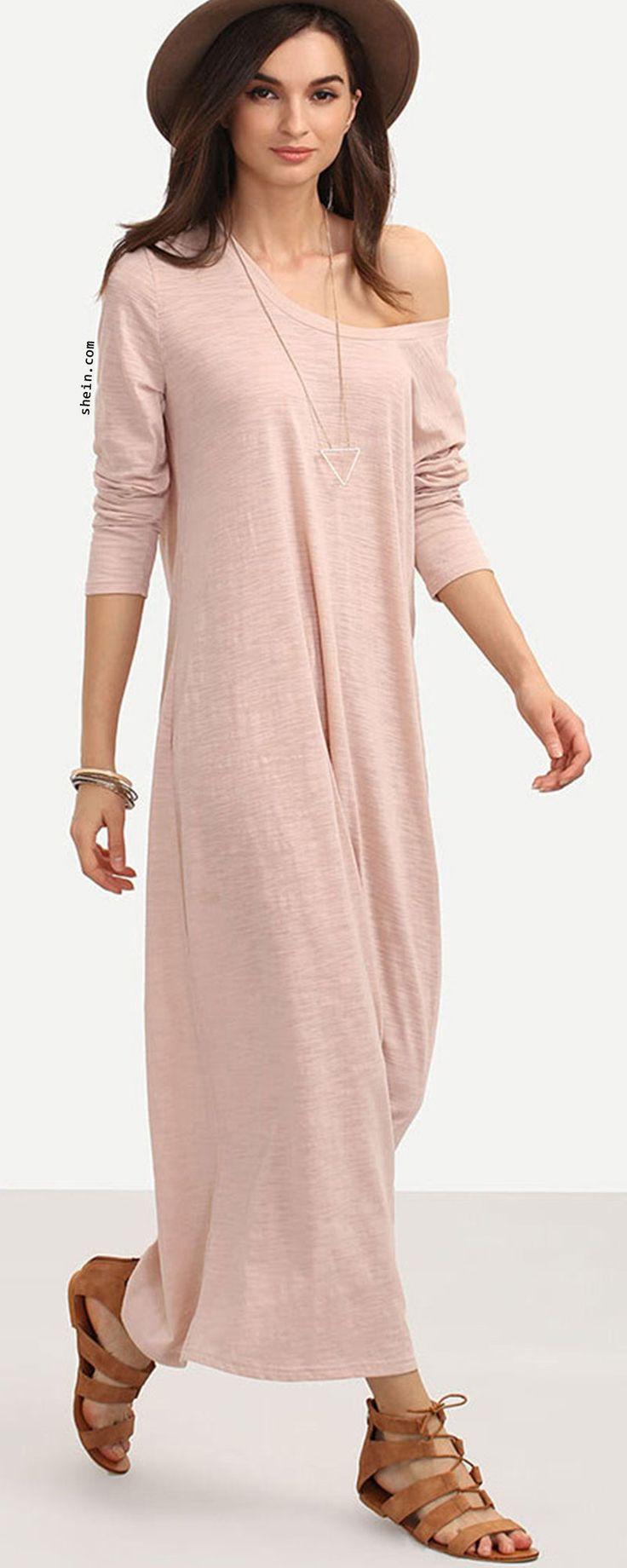 Loose Full Length Dress